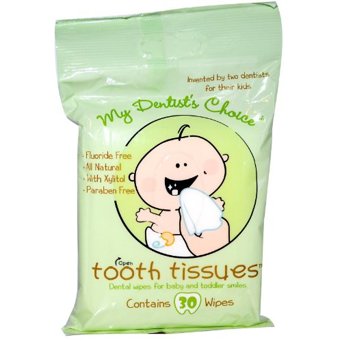 Tooth Tissues Dental Wipes Toddler product image