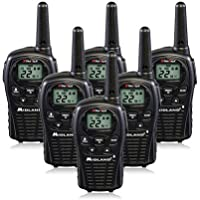 Midland LXT500VP3 (6-Pack ) Two Way Radio, Rechargeable Batteries and Chargers