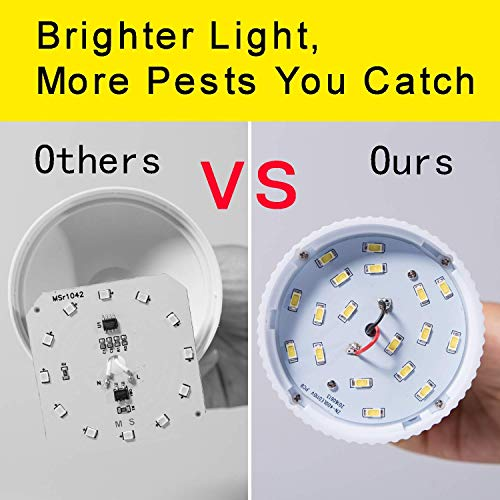 Gogogu Bug Zapper Light Bulbs, Mosquito Killer Lamp, UV LED Electronic  Insect & Fly Killer for Indoor and Outdoor