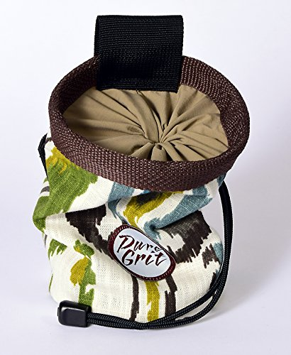 Pure Grit Easy Rider 60s Inspired Chalk Bag (Made in Usa) with Belt
