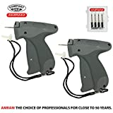 Amram Comfort Grip Standard 2 Pack Tagging Gun Kit, Includes 6 Needles.