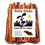 "Downtown Pet Supply 6"" Bully Sticks - Free Range Standard Regular Thick Select 6 inch (5 Pack)"