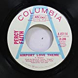 PERCY FAITH 45 RPM AIRPORT LOVE THEME / THEME FOR YOUNG LOVERS (WHERE IS MY SOMEONE)