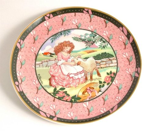 - Heinrich Villeroy and Boch Once Upon a Rhyme collection Mary Had a Little Lamb CP3