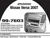 Metra 99-7603 NissanVersa 2007 Dash Kit