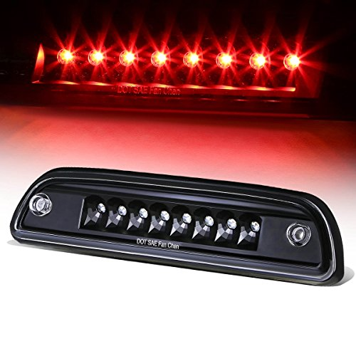 For Tacoma Single Row High Mount LED 3rd Brake Light (Black Housing Clear Lens)