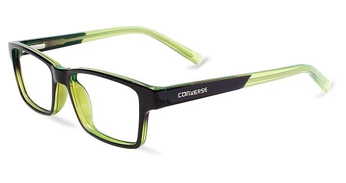 f32aecbec6 Amazon.com  CONVERSE Eyeglasses K017 Black Green  Clothing