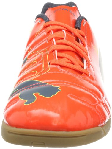 Puma Evopower 4 It - Zapatos de deporte de interior para hombre Fluro Peach/Ombre Blue/Fluro Yellow 01