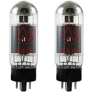 JJ Electronics T-6L6GC-JJ-MP Vacuum Tube Beam Power AMP Matched Pair