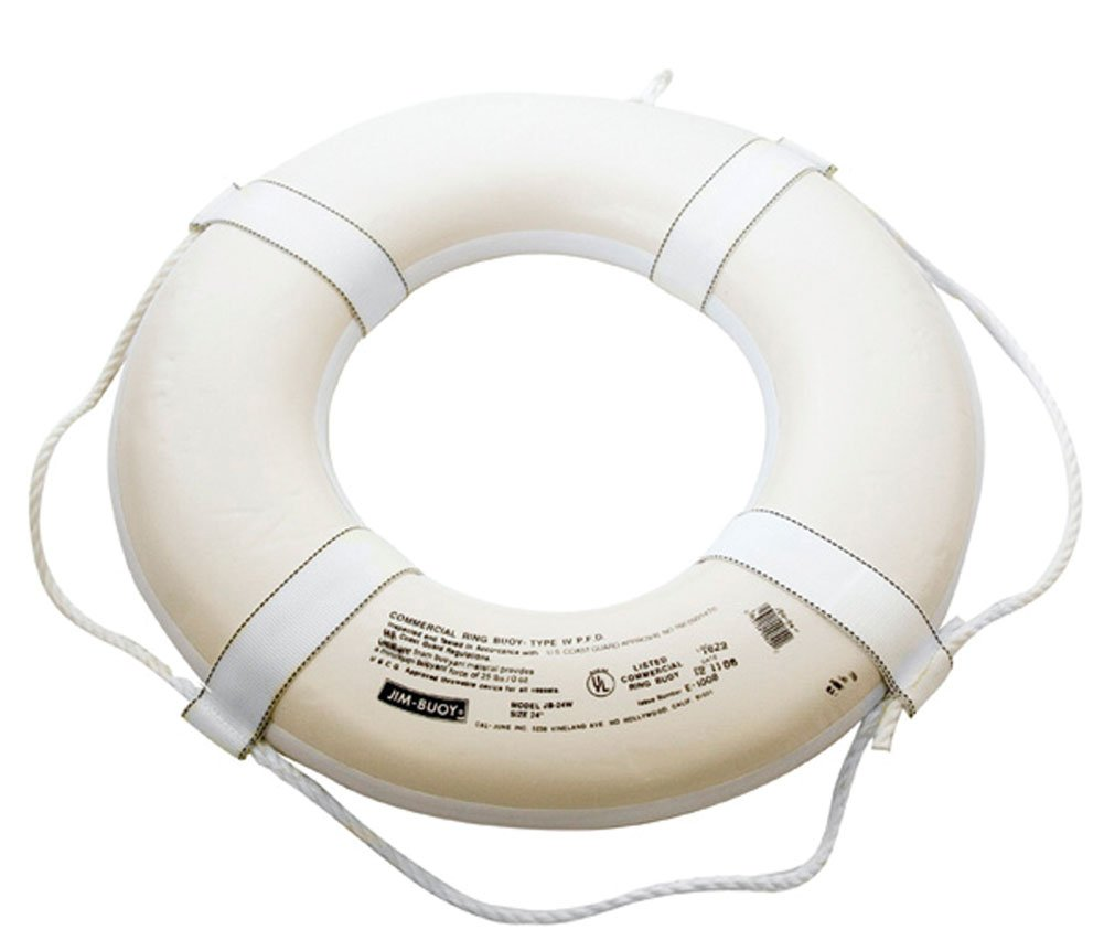 Coast Guard Approved Ring Buoy - 20'' by Kemp USA