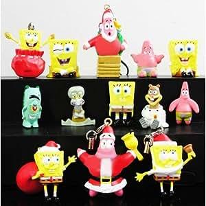 Spongebob Squarepants Patrick Sandy Figures Set Of 13