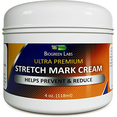 Natural Scar Stretch Mark Removal Cream with Vitamin E Extract Fade Acne Scars & Discoloration Marks...