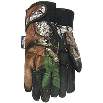 Mossy Oak Mossy Oak Camouflage Thinsulate Lined Glove, 356TH, Size: Extra Large