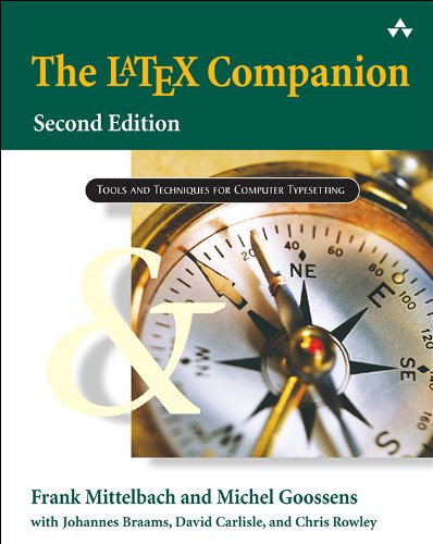 Download The LaTeX Companion (2nd Edition) (Tools and Techniques for Computer Typesetting) Pdf