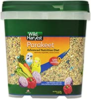 Wild Harvest Wh-83540 Wild Harvest Advanced Nutrition Diet For Nutrition Diet For Parakeets, 4.5-Pound