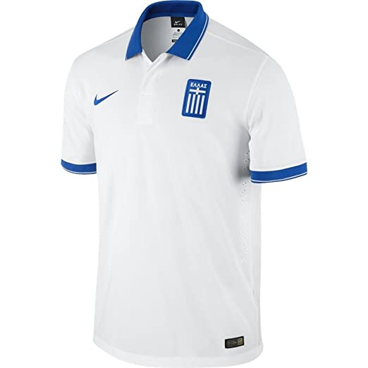 ef0505349 Nike Greece Home Jersey World Cup 2014 (White) (S)