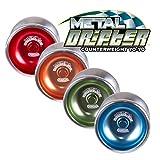 Duncan Toys Metal Drifter Yo-Yo, String Trick Yo-Yo
