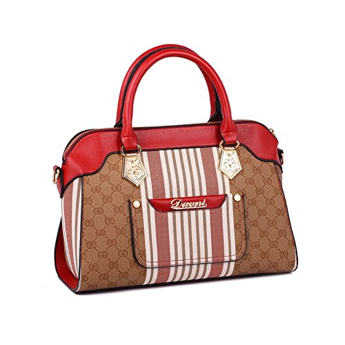 Walcy New Style PU Leather Women's Handbag,Square Cross-Section Small Square Package HB880007C1