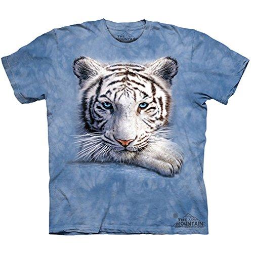 Resting Tiger / Weißer Tiger - Kinder T-Shirts von The Mountain