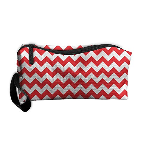 Pattern Stripe Zipper Up Portable Bag Reusable Grocery Bags For Unisex