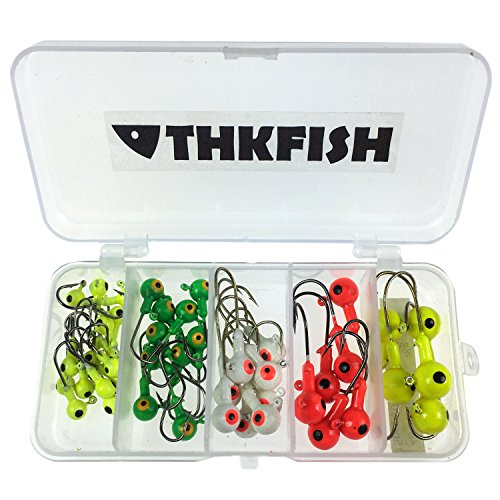 44pcs Fishing Head Hook Plastic product image