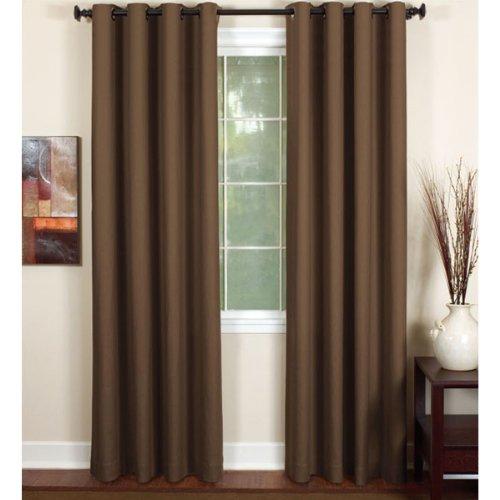 (Elrene Home Fashions Essex Window Panels (Chocolate) - 50