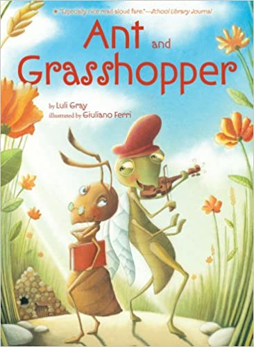 photo regarding The Ant and the Grasshopper Story Printable named Ant and Grhopper: Luli Grey, Giuliano Ferri