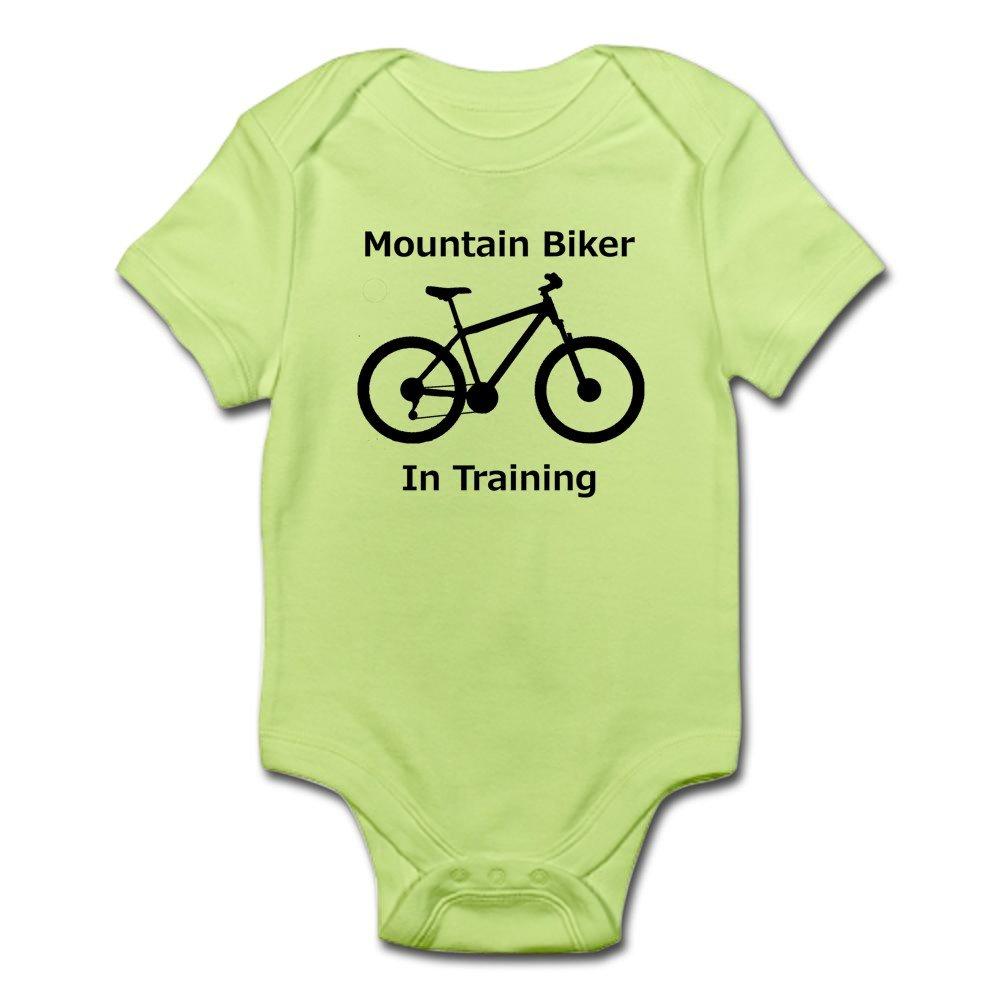 Mountain Biker In Training Body Suit Cute Infant Bodysuit Baby Romper CafePress