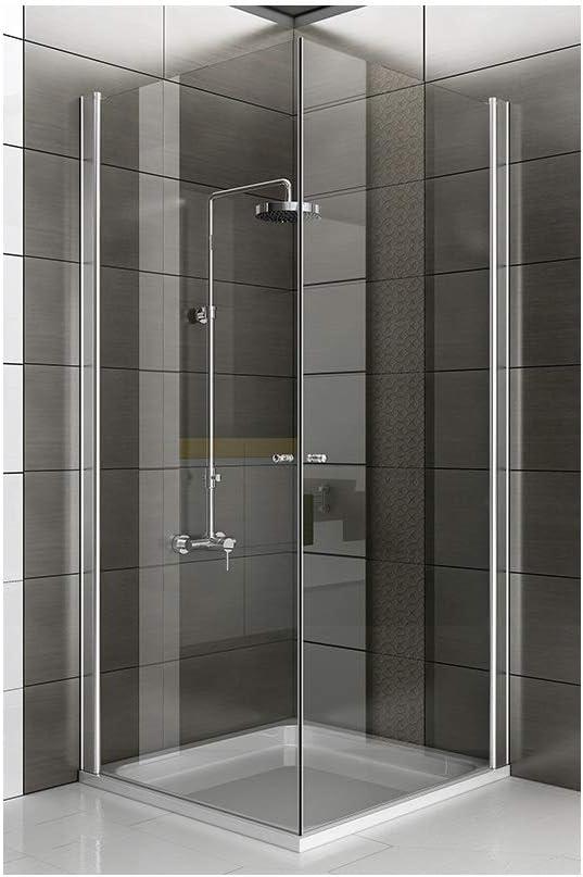 Esquina. cabinas de ducha 90 x 90 x 195 con Nano de vidrio Mampara ...