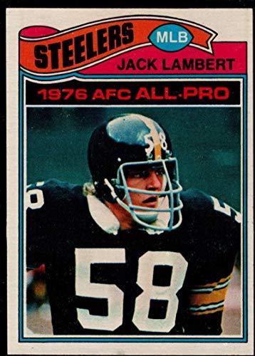 Football NFL 1977 Topps #480 Jack Lambert Steelers