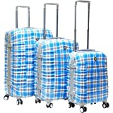 CalPak Impulse 3 Pc Hardside Spinner Luggage Set, Bags Central