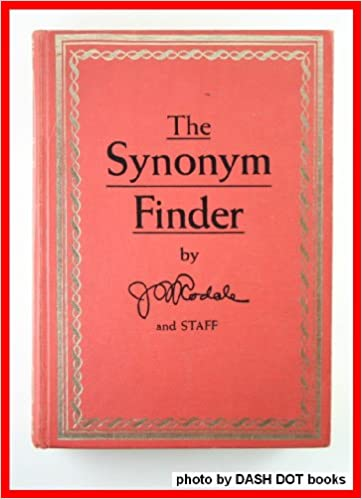 The Synonym Finder: Amazon co uk: J  I  Rodale: Books
