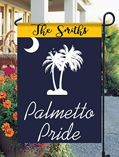 (Tow Yus Dala Polyester Garden Flag for House Decor-South Carolina Palmetto Pride Garden Flag (2 Sides Print))