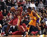 Lebron James and Kobe Bryant 8x10 Photo - (Mint Condition)