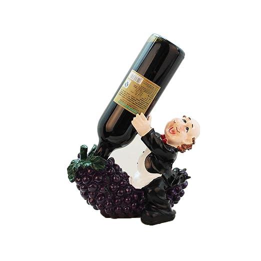 YQQ-Estante para Botellas de Vino, Soporte Creativo para ...