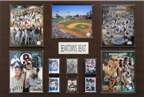 Boston Greatest Stars State Plaque by C&I Collectables