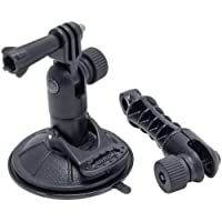 Arkon Sticky Suction Windshield or Dash Mount Holder for GoPro HERO Action Cameras Retail Black