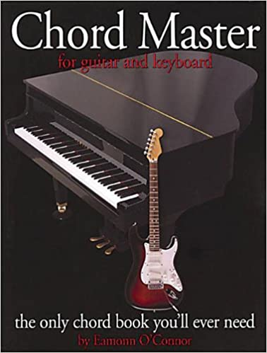 Book Chord Master For Guitar And Keyboard (Guitar Books)