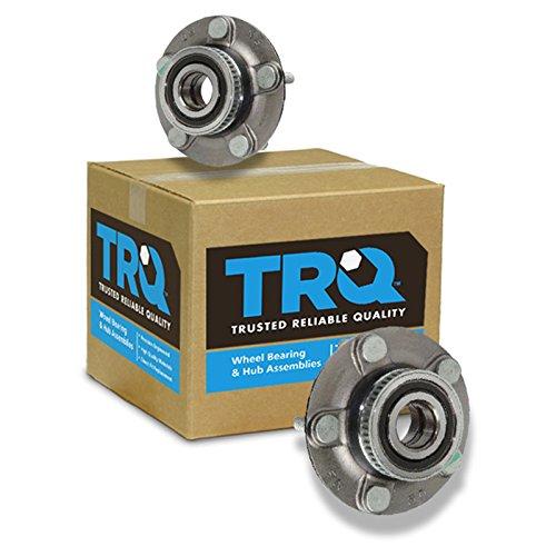TRQ Rear Wheel Hub & Bearing w/ABS Pair for Dodge Intrepid Chrysler Eagle Vision
