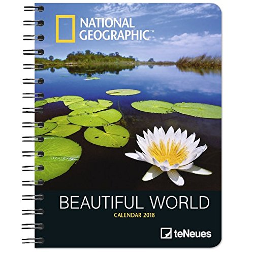 2018 National Geographic Beautiful World Deluxe Diary ...