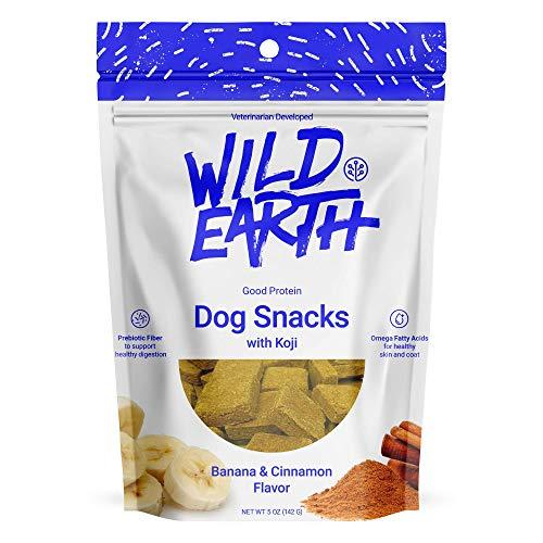 (Wild Earth - Clean Protein Dog Treats with superfood Koji (Banana & Cinnamon))