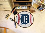 Detroit Tigers Baseball Rugs