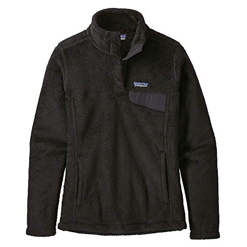 (Patagonia Re-Tool Snap-T Pullover, Black SM (Women's)
