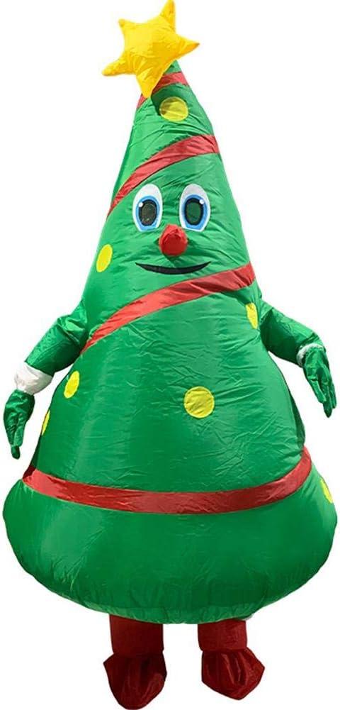Wood.L Divertido Disfraz Inflable De Árbol De Navidad para Adultos ...