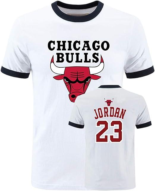 Equipo Chicago Bulls Logo Manga Corta Camisetas Deportes Jordan ...