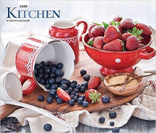 Livre pdf gratuit a telecharger en francais Kitchen 2020 Calendar: Foil Stamped Cover