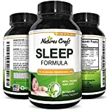Best Natural Revitalizing Sleep Formula - End Fatigue - Supports Deep Uninterrupted Sleep - Non Addictive Supplement - Magnesium + L-Theanine + GABA - Purest Herbal Ingredients