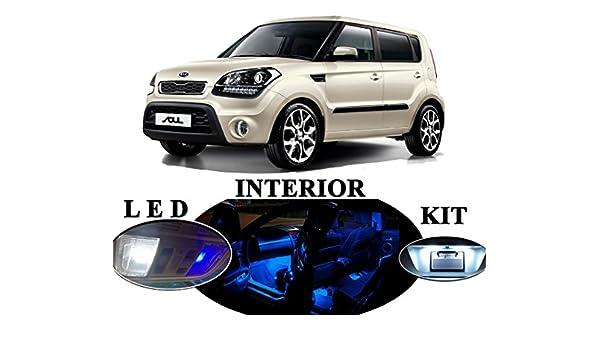 2 Pcs Sun visor LED light Bulbs for Kia Soul Xenon White Vanity