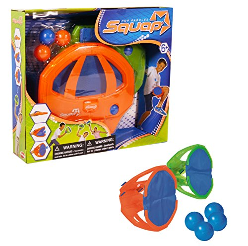 Diggin Squap Pop Paddles-The Ultimate Throw & Catch Active Indoor/Outdoor Game