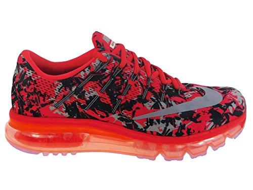 Nike Men's Air Max 2016 Light Crimson/Wolf Grey/Anthracite Nylon Running Shoes 8 D US